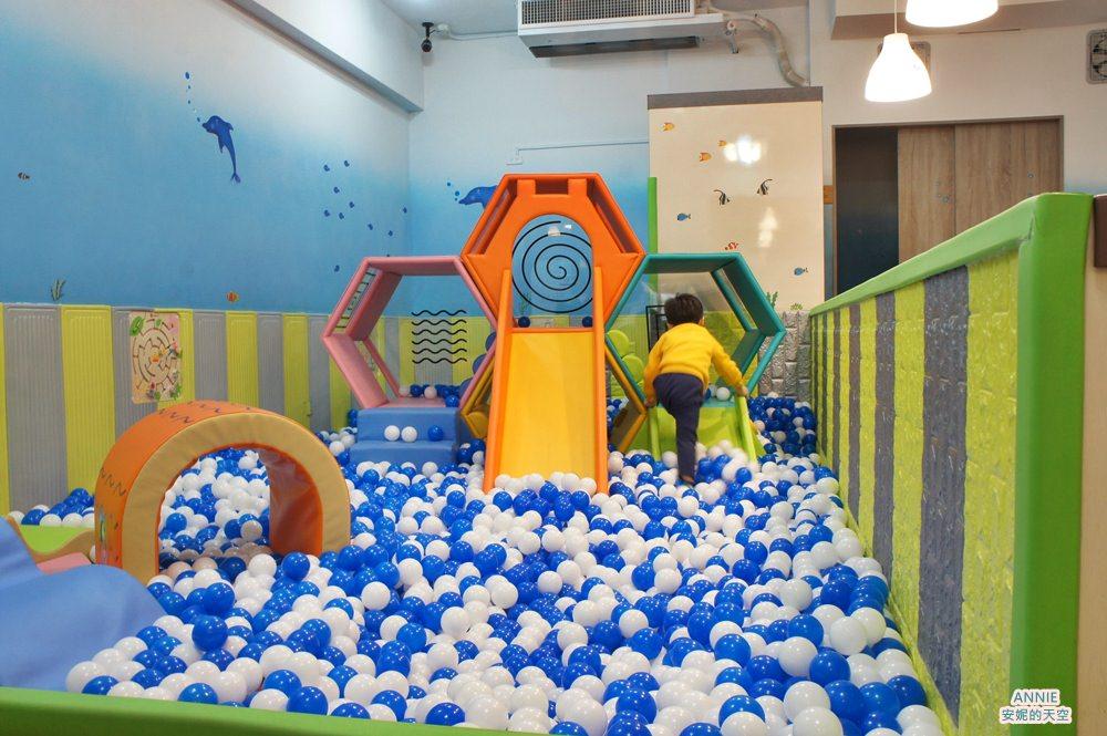 [新莊親子餐廳] 附有超大球池 不只是沙拉-五工米樂店
