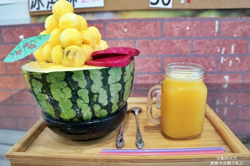 [蘆洲冰品]古早味旺來冰 IG打卡浮誇冰品 一整顆西瓜搬上桌 就是要你消暑這一夏