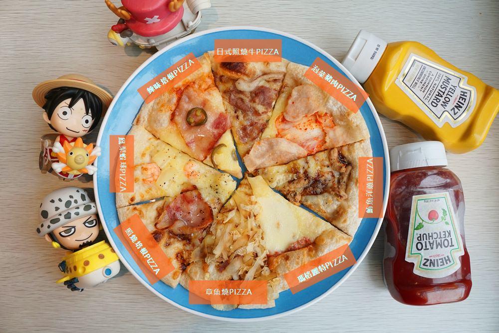 20180707012107 60 - 熱血採訪│新莊披薩吃到飽 The Pizza 惹披薩 - 輔大店 八種口味PIZZA吃到飽 同學會聚餐好選擇