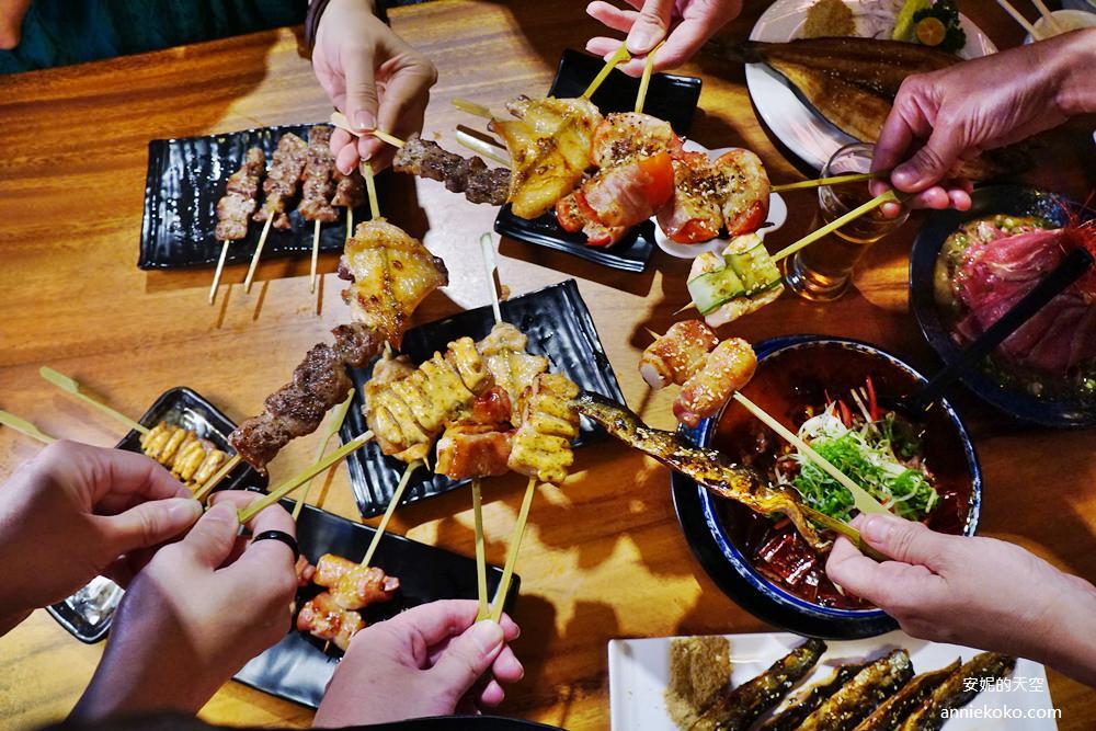 [台中聚會餐廳推薦] 店小二串燒vs燒肉  來宮廷裡吃串燒   數十種烤肉串 想吃烤肉不用自己烤
