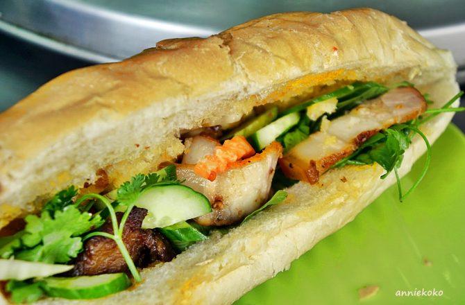 [新莊美食推薦] 化成路上的越南河粉 雙烤肉法國麵包 大份量超滿足