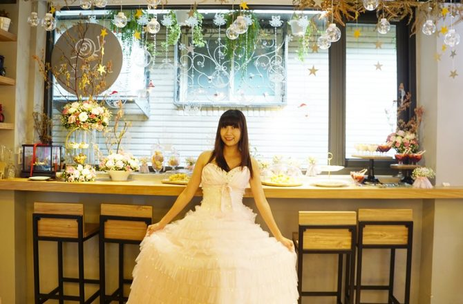 [新店區公所站美食 花草慢食光]充滿花藝的浪漫空間 餐廳裡開派對