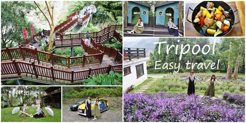 [新竹景點]青蛙石天空步道 薰衣草森林 漫步尖石鄉 Tripool旅步專車接送 旅行更EASY