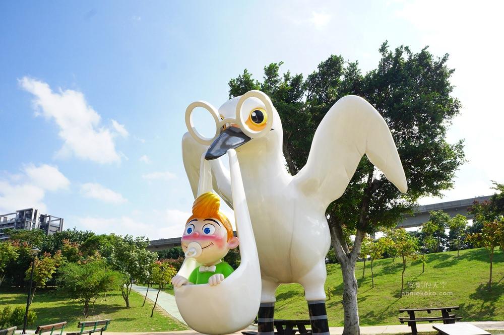 20181114232509 27 - [桃園景點]青塘園地景  乘載著夢想的桃機一號  超萌的送子鳥送來幸福 還有適合野餐的大草原