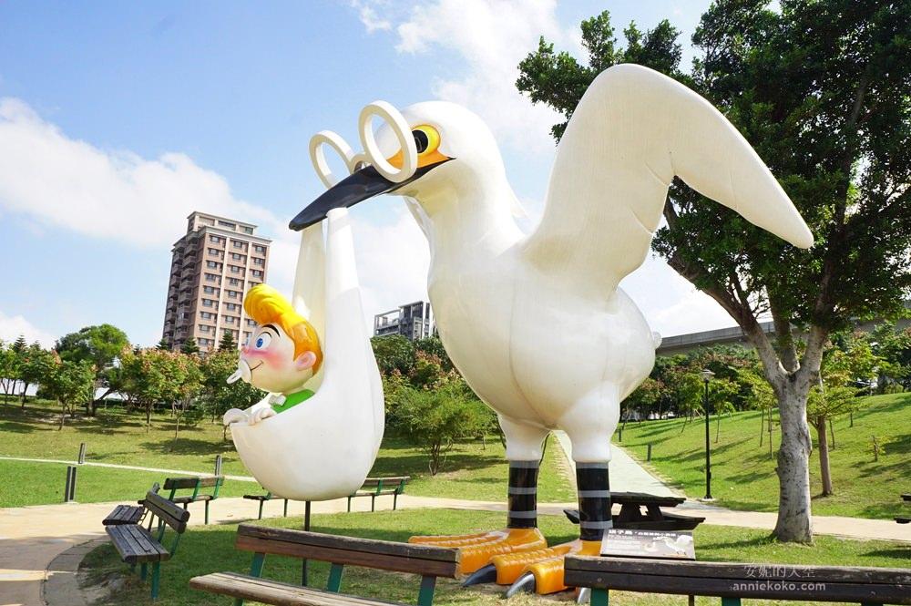20181114232511 50 - [桃園景點]青塘園地景  乘載著夢想的桃機一號  超萌的送子鳥送來幸福 還有適合野餐的大草原
