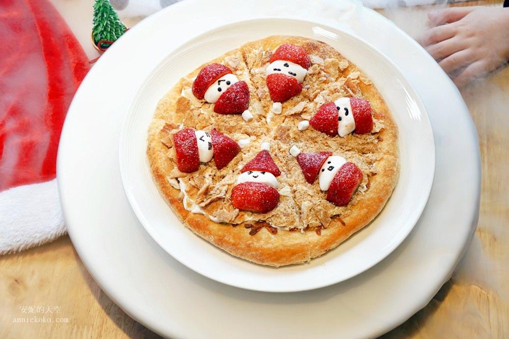 20181129194128 19 - [熱血採訪]萌萌的雪人披薩陪你過耶誕  義大利米蘭手工窯烤披薩 童趣耶誕餐點熱鬧登場
