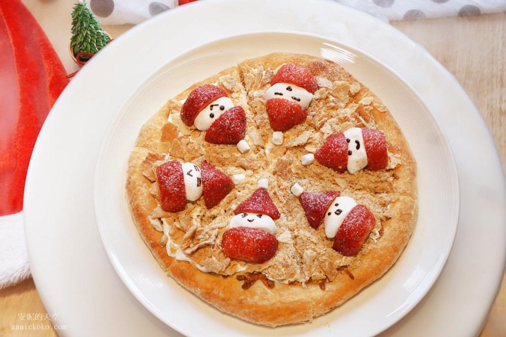 20181129194130 27 - [熱血採訪]萌萌的雪人披薩陪你過耶誕  義大利米蘭手工窯烤披薩 童趣耶誕餐點熱鬧登場