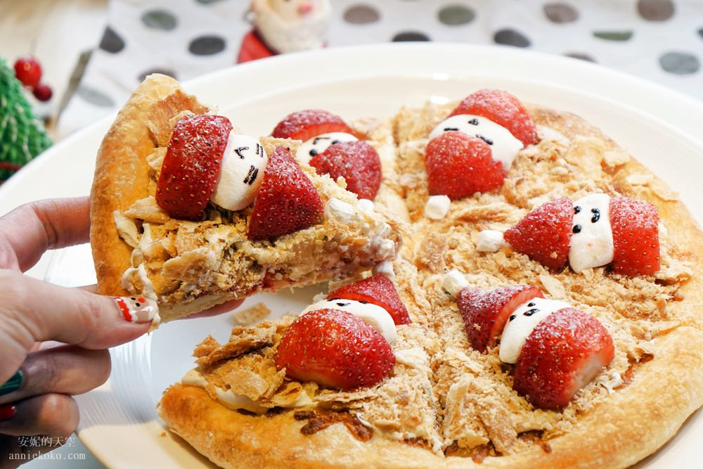 20181129194144 40 - [熱血採訪]萌萌的雪人披薩陪你過耶誕  義大利米蘭手工窯烤披薩 童趣耶誕餐點熱鬧登場