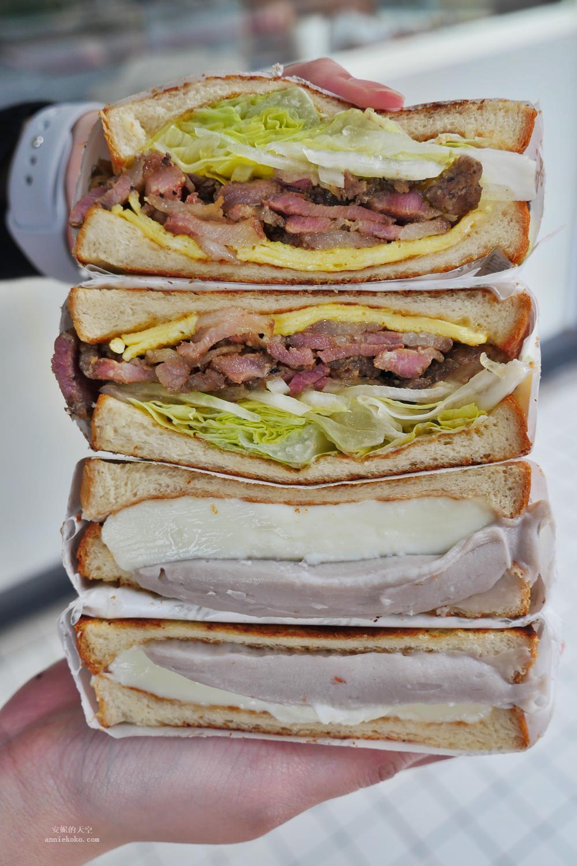 20181216173030 36 - [善導寺站美食]滿樂板烤土司 一點也沒讓我失望的芋泥奶酪 鹹豬肉口味也值得一嘗