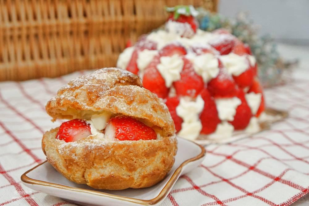 20181230195316 66 - [新莊甜點]浮誇系草莓聖代蛋糕 免排隊搭捷運來就買得到 新莊老店日月香蛋糕店