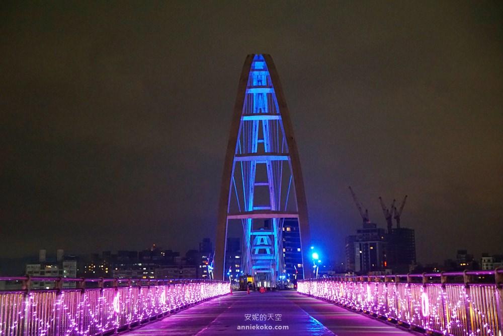 20190302204518 66 - [新北 新月橋]  橫跨新莊板橋的一抹璀璨 熱門打卡點 巨大郵票框 小王子狐狸彩繪牆 白天夜晚都好拍