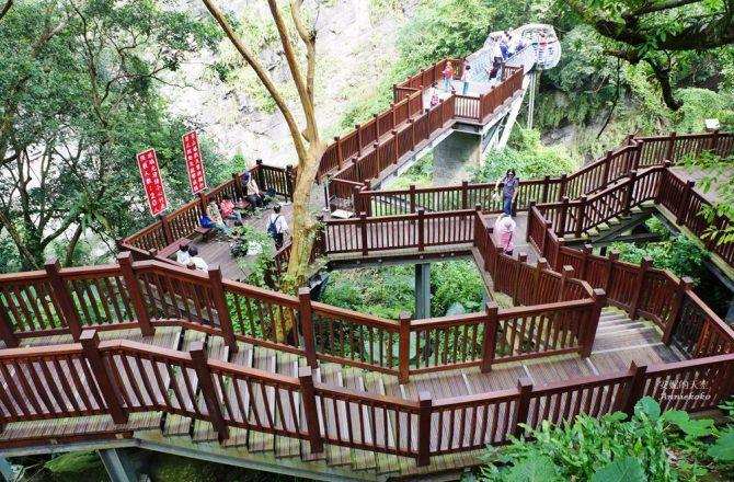 [新竹景點]青蛙石天空步道  萌到爆的青蛙巨石  玻璃景觀平台欣賞彩虹飛瀑