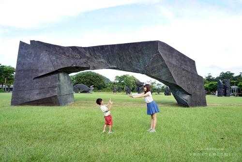 [台北金山景點]朱銘美術館 比想像中更好玩的美術館 適合全家共遊的好去處