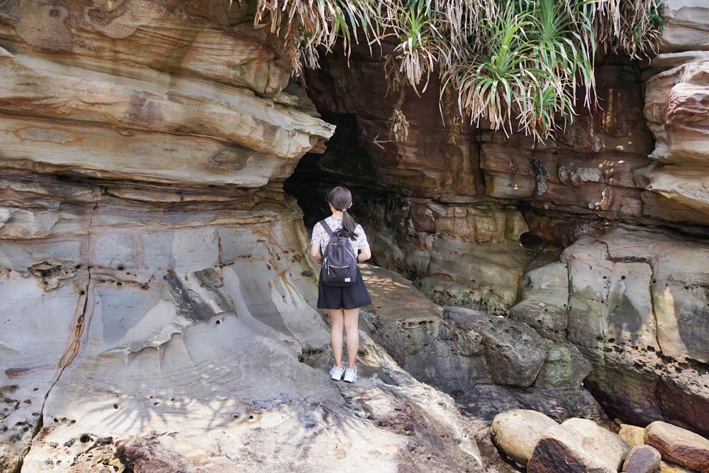 20190426013453 99 - 新北秘境 金山神秘海岸 絕美一線天礁岩 穿越巨岩才能抵達的夢幻海岸