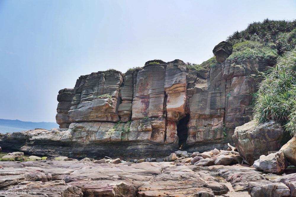20190426013539 91 - 新北秘境 金山神秘海岸 絕美一線天礁岩 穿越巨岩才能抵達的夢幻海岸