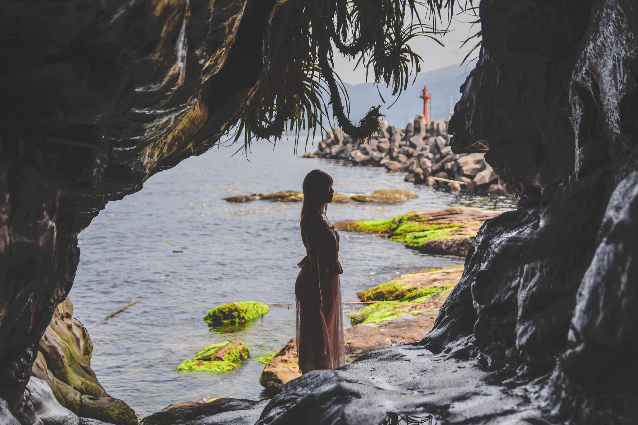 20190426111733 48 - 新北秘境 金山神秘海岸 絕美一線天礁岩 穿越巨岩才能抵達的夢幻海岸