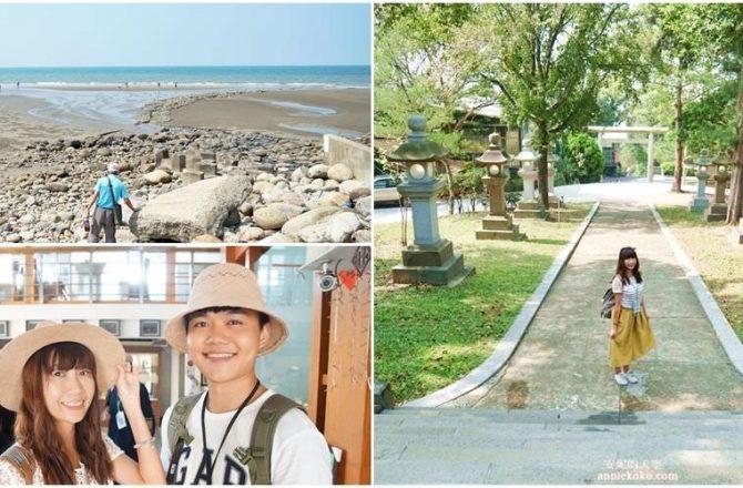 [苗栗景點]通霄神社 心雕居 藺草文化館 出水沙灘 被稻浪與海線包圍的緩慢城鎮