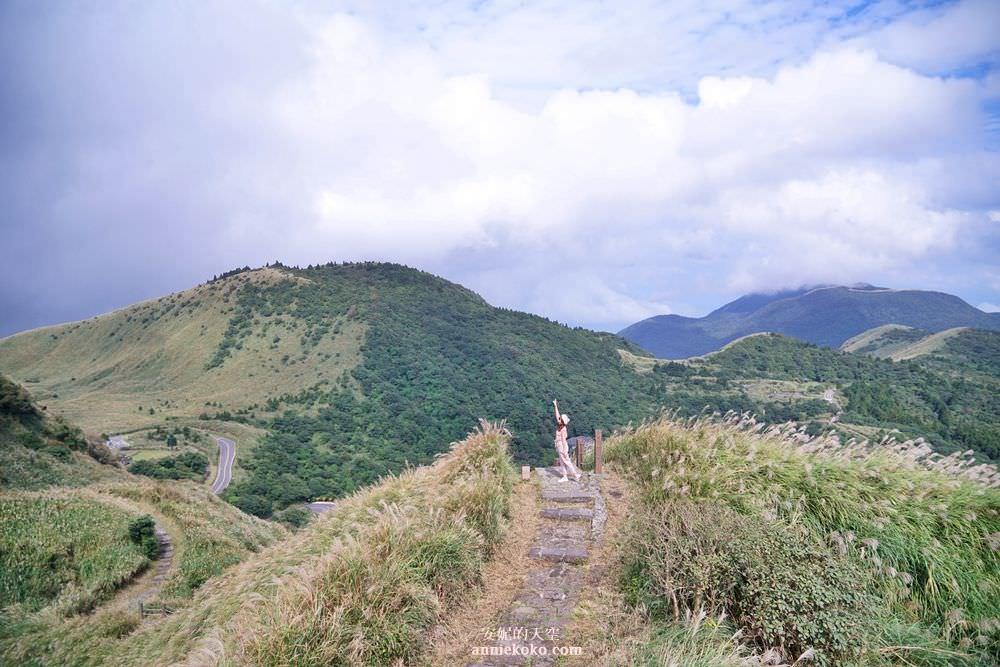 [七星山主東峰攻頂記] 是天使降落的天外之境吧 陽明山賞芒步道攻略 七星山到小油坑的奇幻旅程