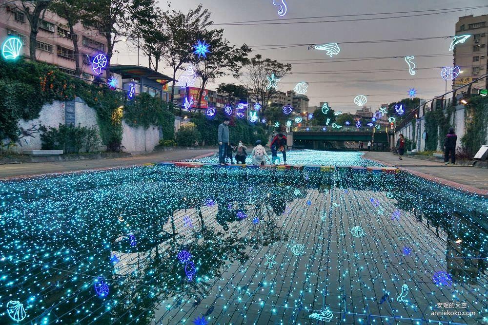 20200212205227 50 - 新莊人拍起來~~~幸福站有夠美  藍調燈海點亮河道 魔幻地球驚艷新莊 幸福這一站