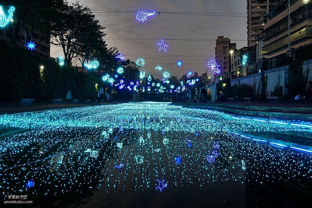 20200212205323 40 - 新莊人拍起來~~~幸福站有夠美  藍調燈海點亮河道 魔幻地球驚艷新莊 幸福這一站