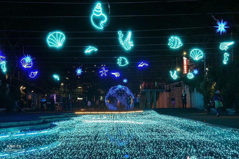20200212205416 50 - 新莊人拍起來~~~幸福站有夠美  藍調燈海點亮河道 魔幻地球驚艷新莊 幸福這一站