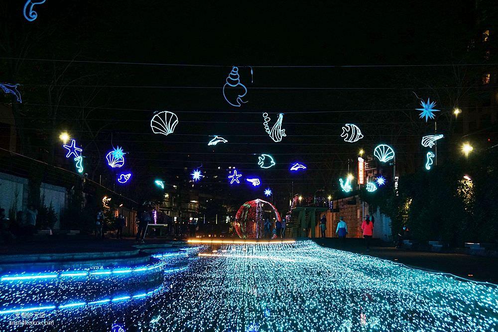 20200212205424 87 - 新莊人拍起來~~~幸福站有夠美  藍調燈海點亮河道 魔幻地球驚艷新莊 幸福這一站