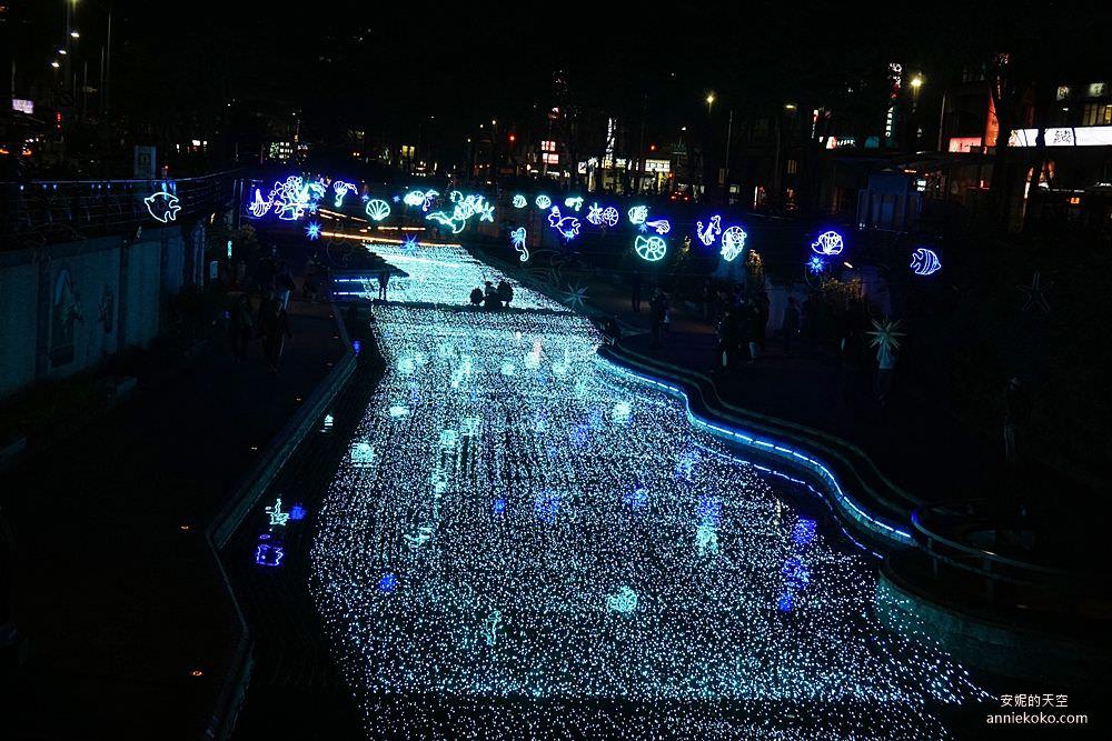 20200212205435 73 - 新莊人拍起來~~~幸福站有夠美  藍調燈海點亮河道 魔幻地球驚艷新莊 幸福這一站