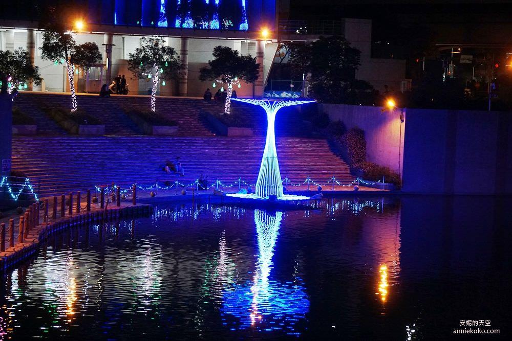 20200212205502 74 - 新莊人拍起來~~~幸福站有夠美  藍調燈海點亮河道 魔幻地球驚艷新莊 幸福這一站