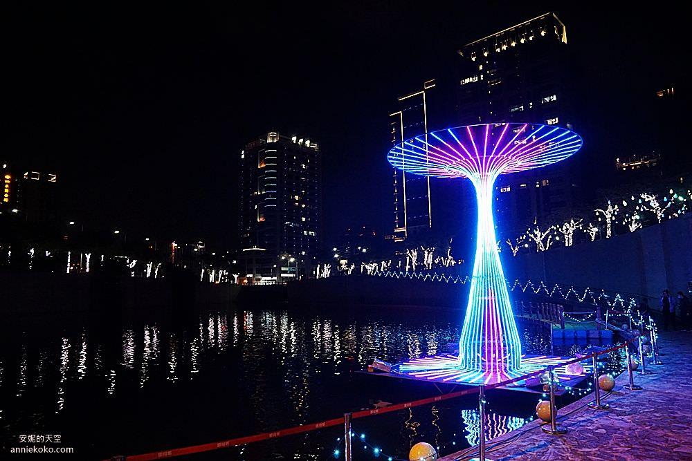 20200212205603 28 - 新莊人拍起來~~~幸福站有夠美  藍調燈海點亮河道 魔幻地球驚艷新莊 幸福這一站