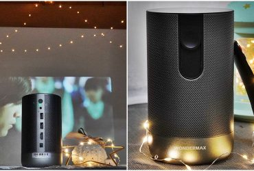 [攜帶式投影機 WONDERMAX AP7 PRO FHD ] 隨身製造浪漫機 打造家庭劇院 戶外露營、野餐、辦公簡報、藍芽音響 一機多用途