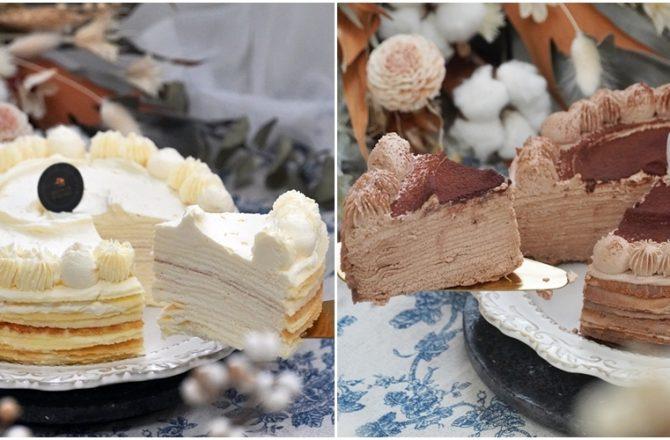 南港隱藏版超好吃千層蛋糕 『 皮皮手作千層』 根本是平民版LADY M 千層蛋糕
