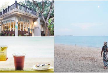 澎湖最美咖啡館 [及林春咖啡館]我在森林裡看海