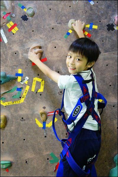 [攀岩] 挑戰孩子的極限~