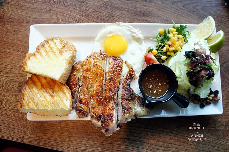 [新莊早午餐] 豐滿早午餐  置身玻璃屋裡用餐 行李箱裝飾滿牆  豐盛餐點讓我超滿意