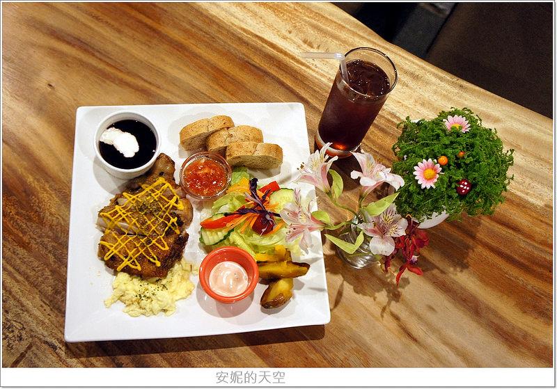 [板橋 美食]Chatting愜庭洋廚 /早午餐/燉飯義大利麵/優質庭園餐廳/鄰近板橋車站