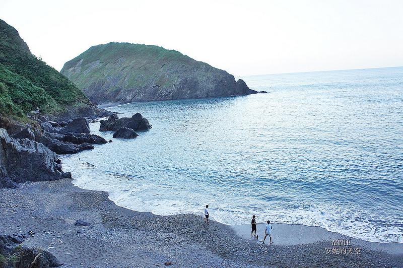 [宜蘭蘇澳 玻璃海] 內埤海灣裡的一彎秘境 海流危險 不建議下海遊玩